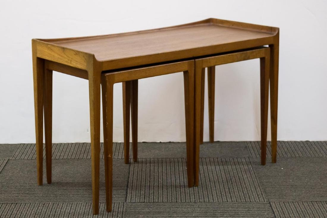 Danish Modern Teakwood Nesting Tables - 2