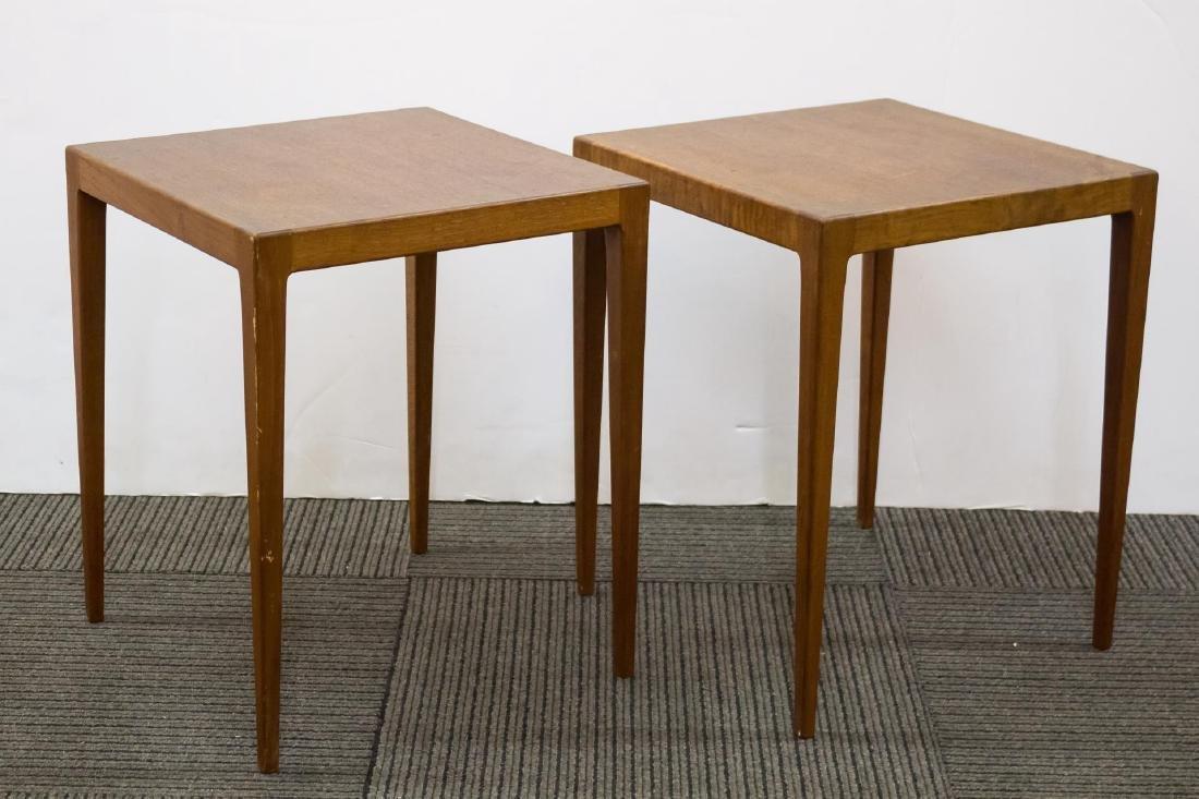 Danish Modern Teakwood Nesting Tables - 6