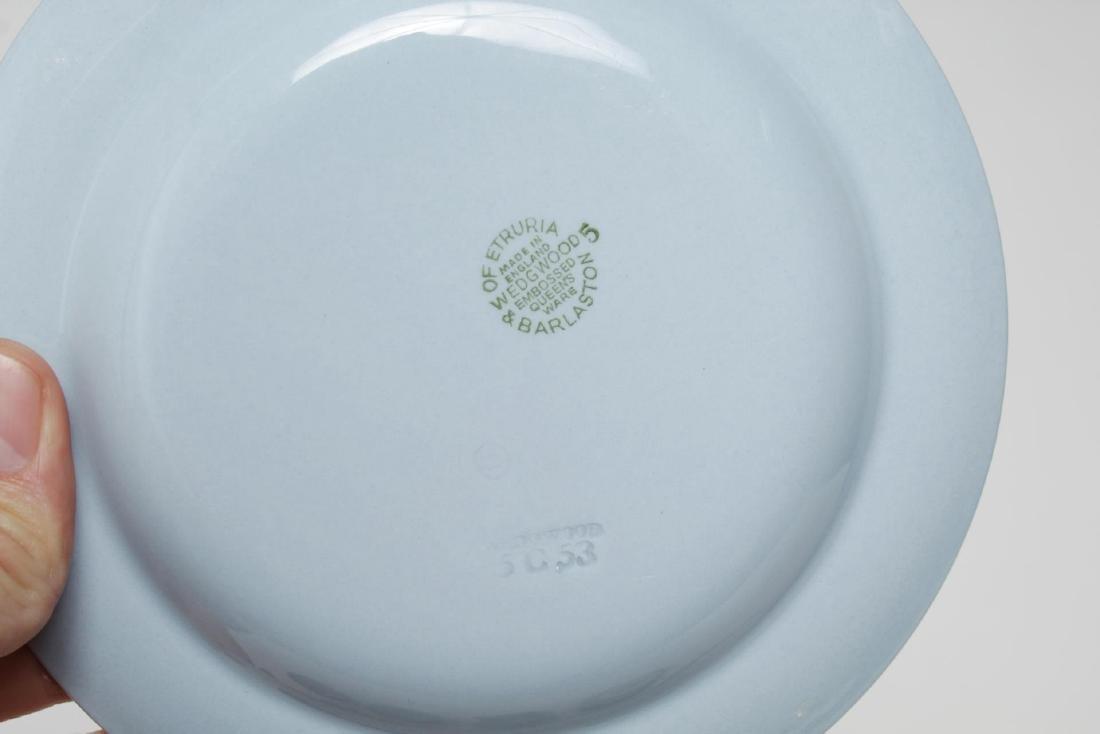 Wedgwood Blue-Glazed Porcelain Tea Service - 6
