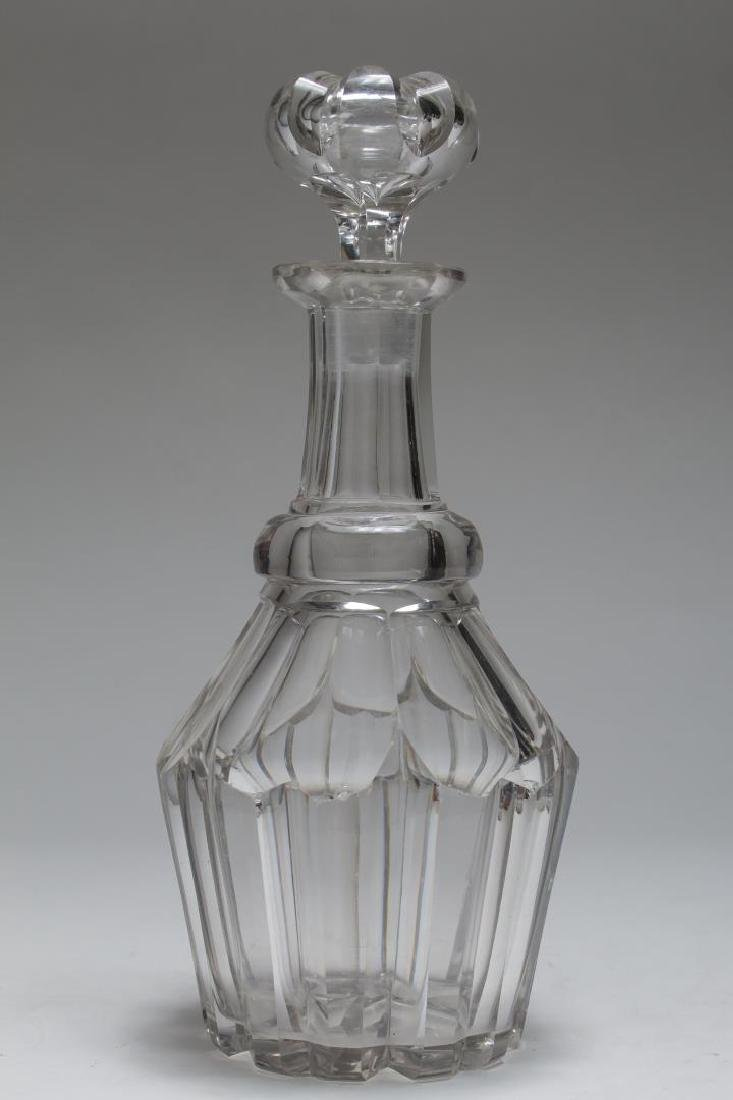 Vintage Lead Crystal Decanters, 5 Pcs - 2
