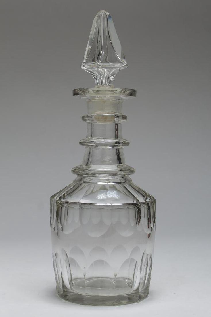 Vintage Lead Crystal Decanters, 5 Pcs - 3