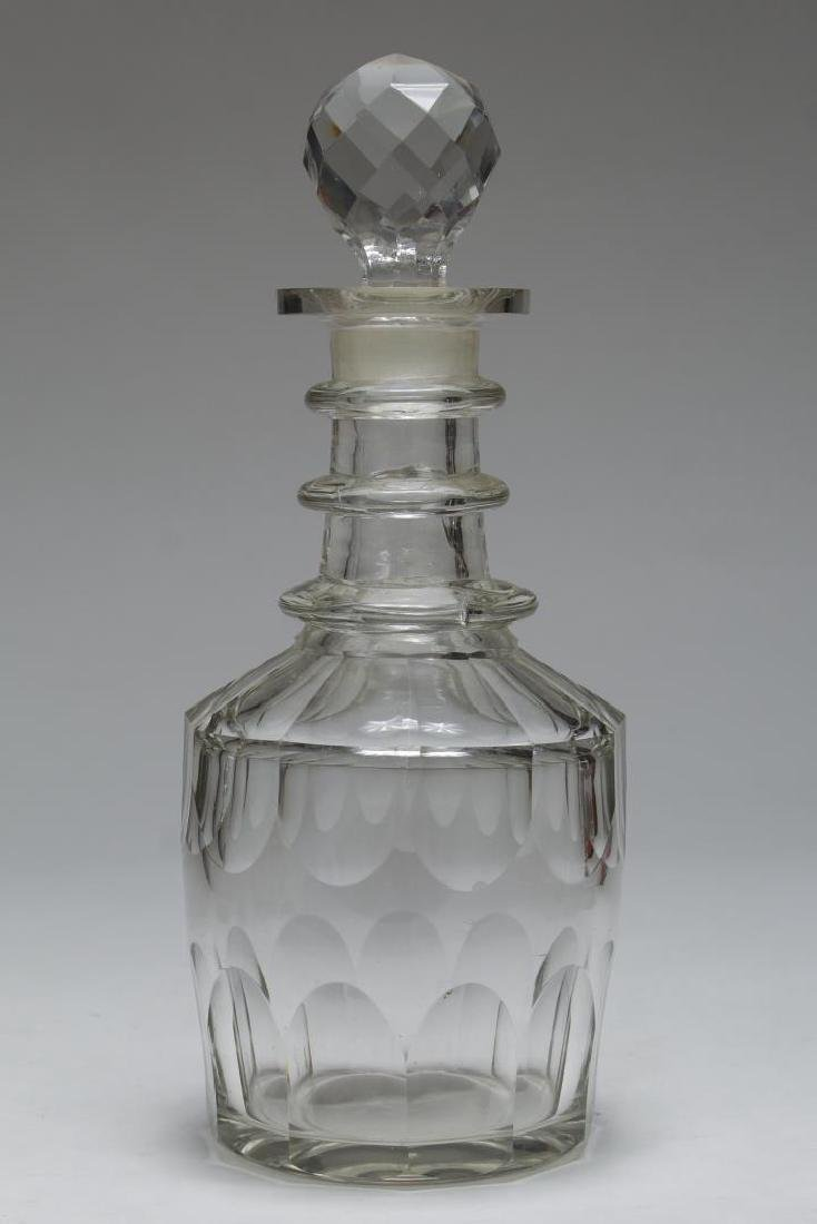Vintage Lead Crystal Decanters, 5 Pcs - 4