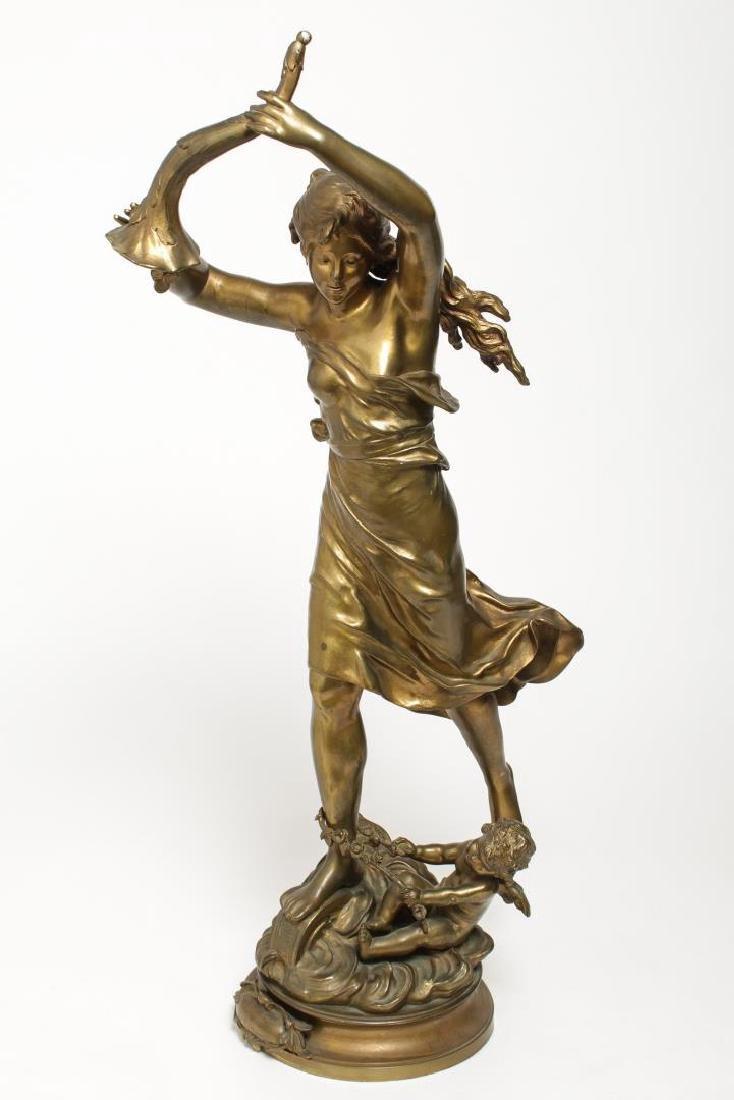 Louis Auguste Moreau (French, 1855-1919)- Bronze