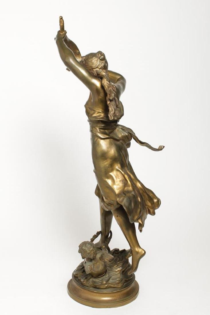 Louis Auguste Moreau (French, 1855-1919)- Bronze - 4