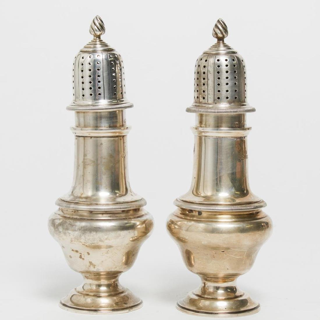Silver Sugar Casters or Shakers, Vintage 1920s