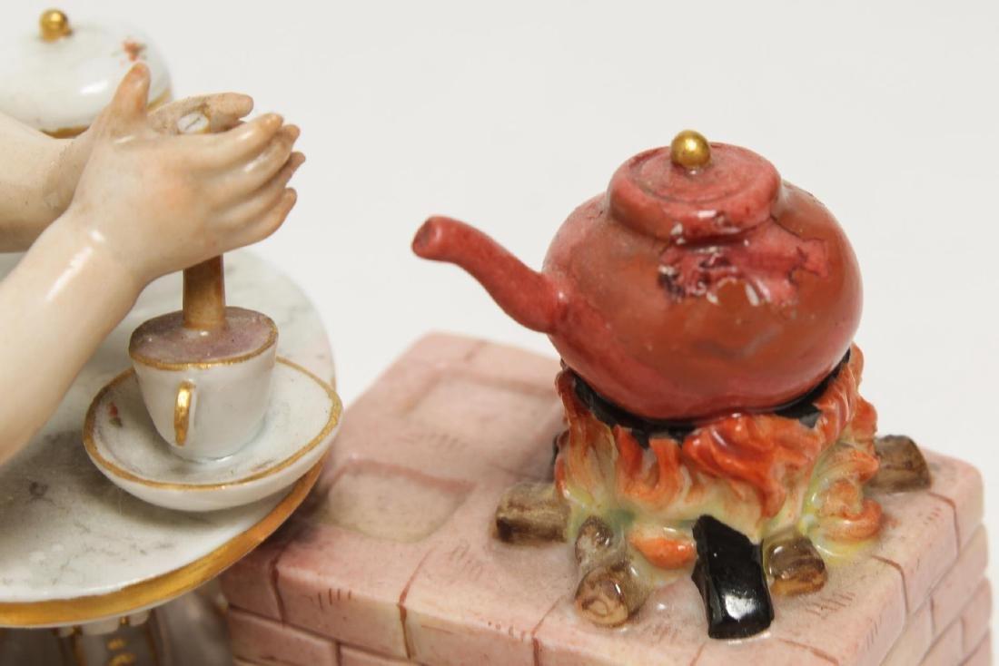 Meissen Porcelain Cherub Chocolatier Figurine - 6