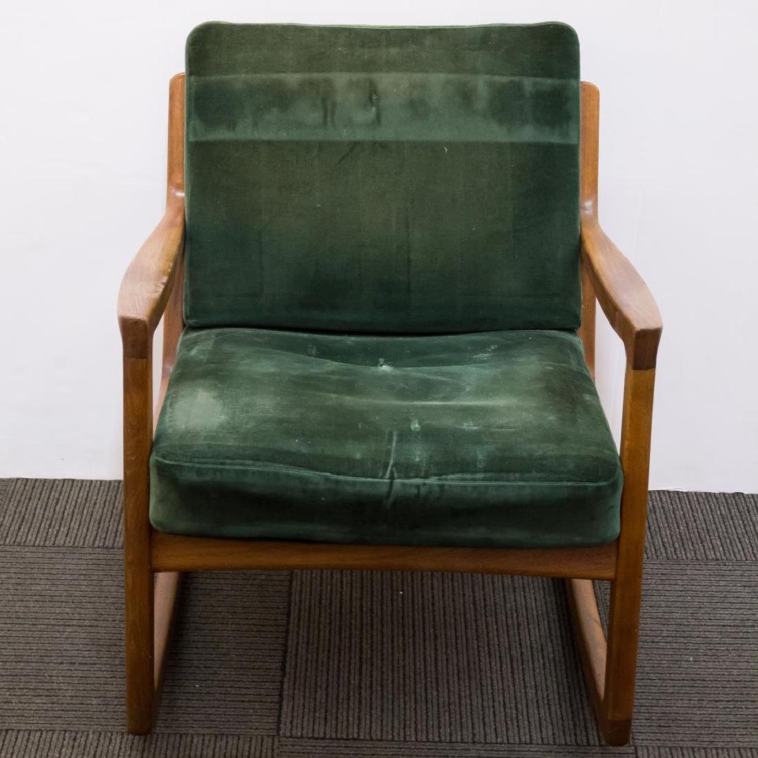 Ole Wanscher Danish Modern Teakwood Rocking Chair - 2