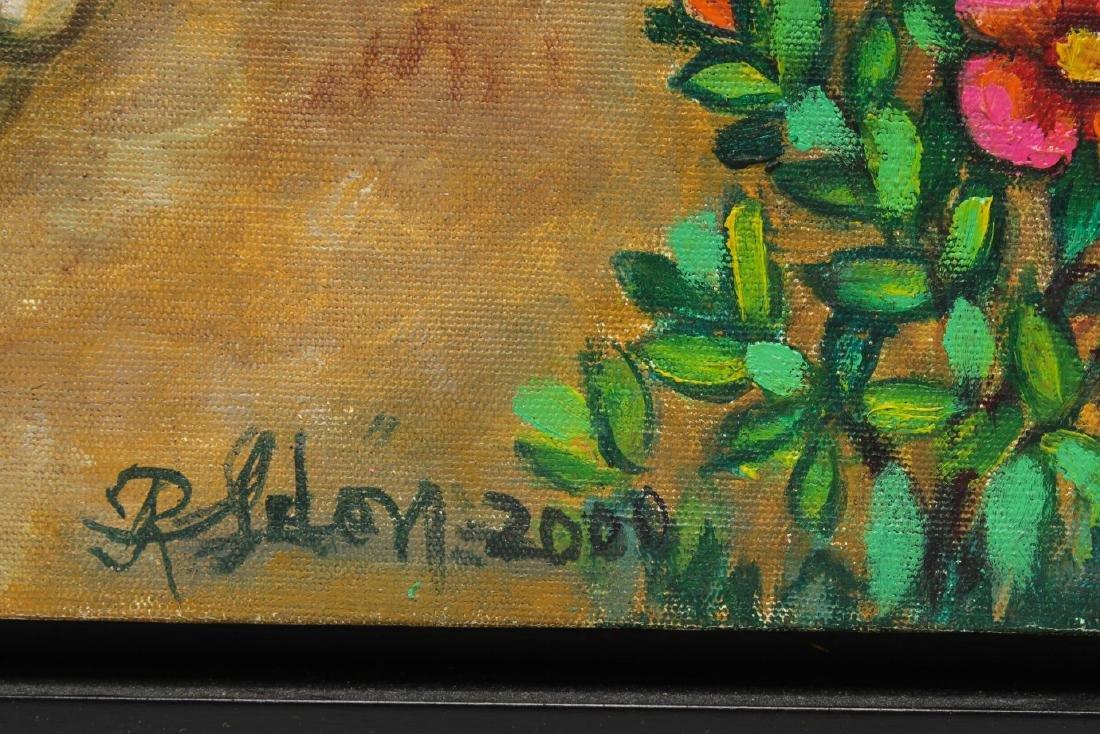 Reina Ledon Perez (Cuban, b. 1927)- Folk Painting - 2