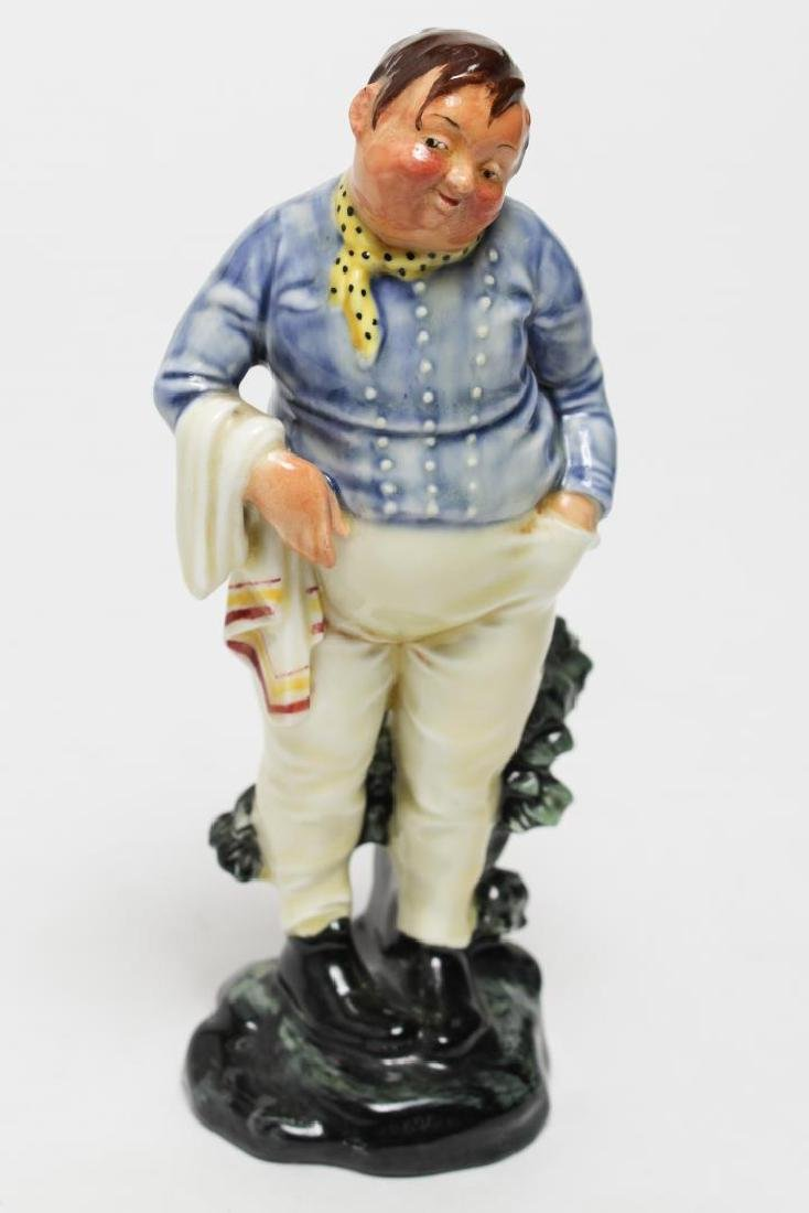 "Royal Doulton Charles Dickens ""Fat Boy"" Figurine"