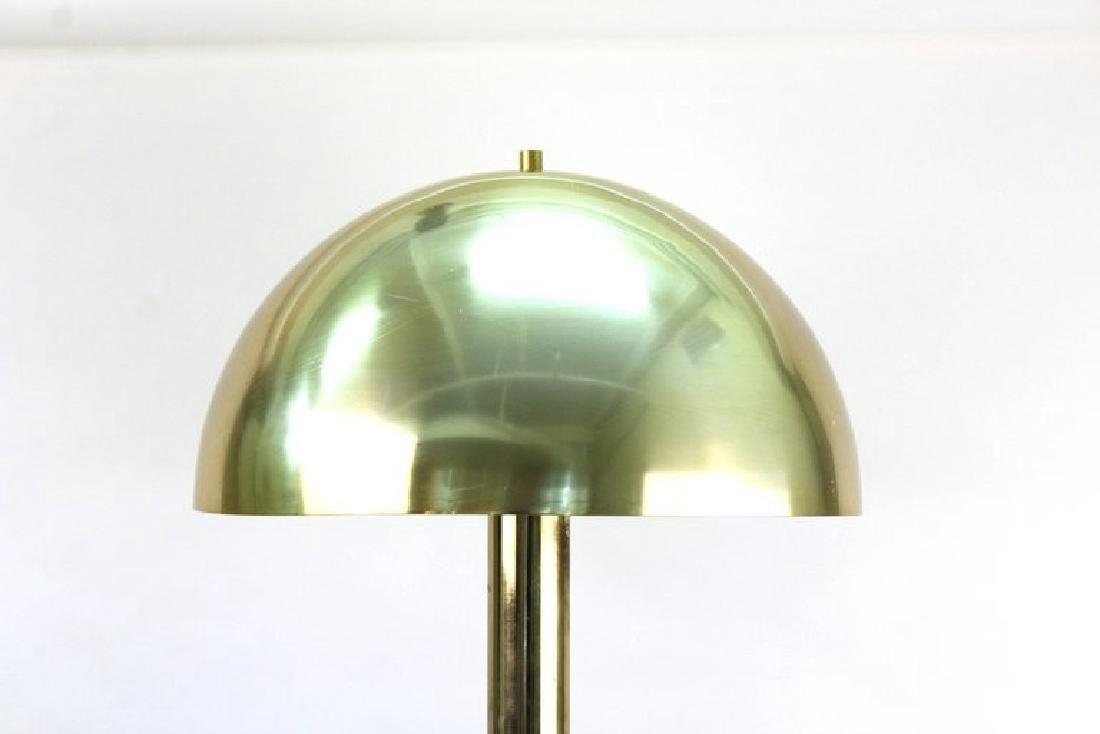 Laurel Mushroom Lamp, Mid-Century Modern, Brass - 2
