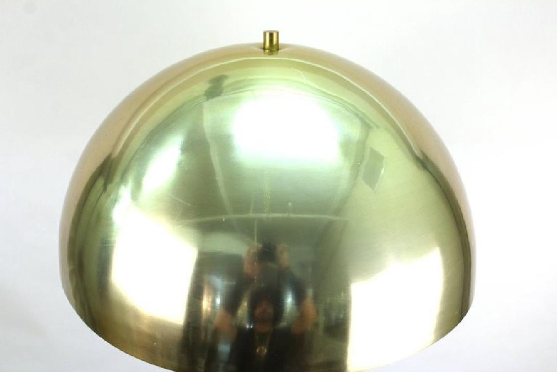 Laurel Mushroom Lamp, Mid-Century Modern, Brass - 3