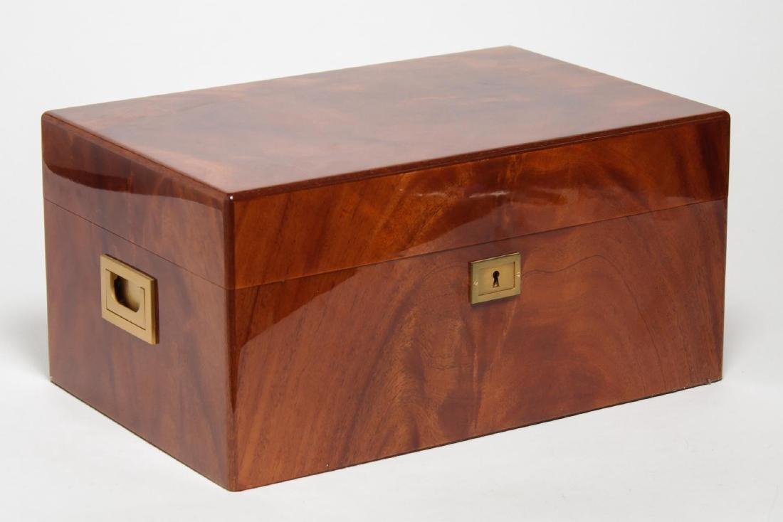 Davidoff Cigar Humidor, Mahogany Wood