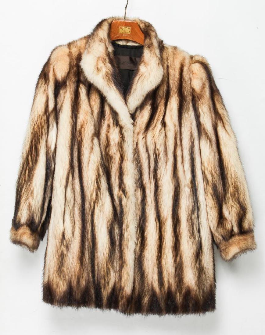 Fitch Jacket, Vintage Fur Coat