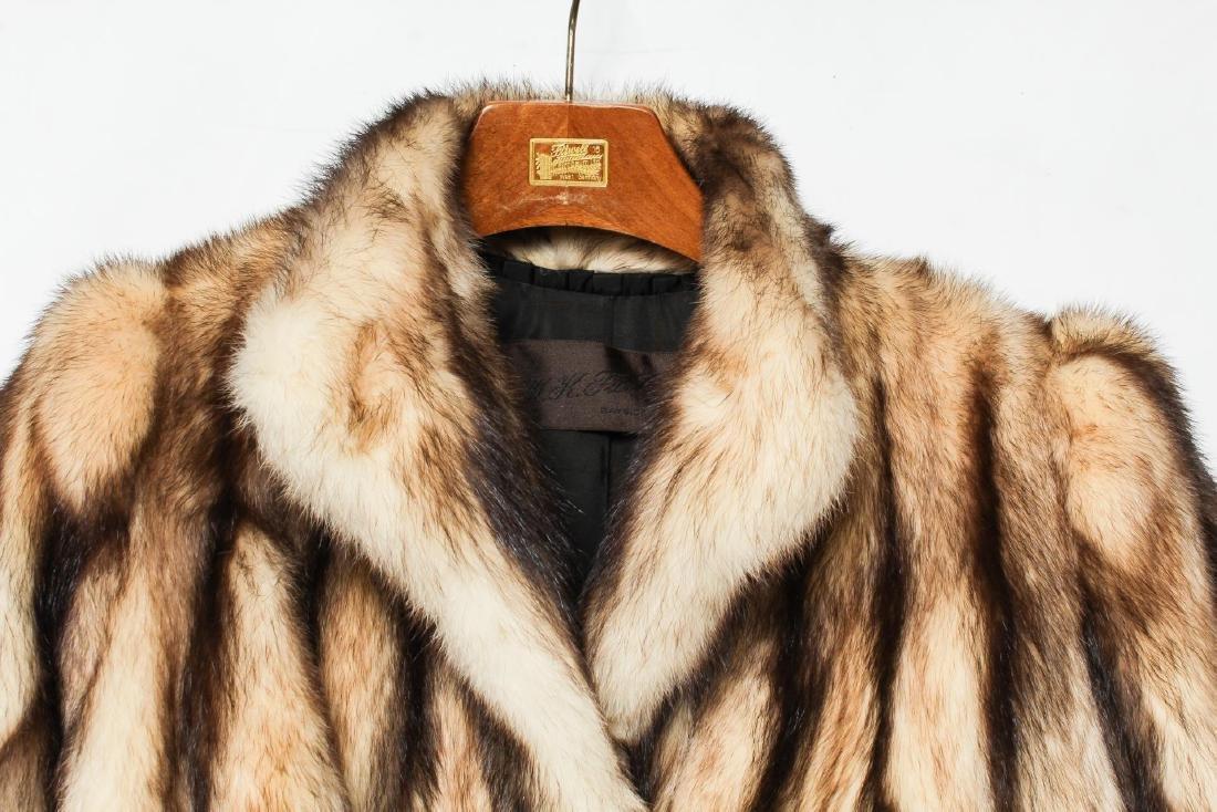 Fitch Jacket, Vintage Fur Coat - 2