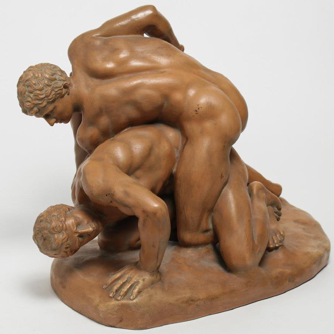 """""""Wrestlers,"""" Terracotta After Classical Rome"""