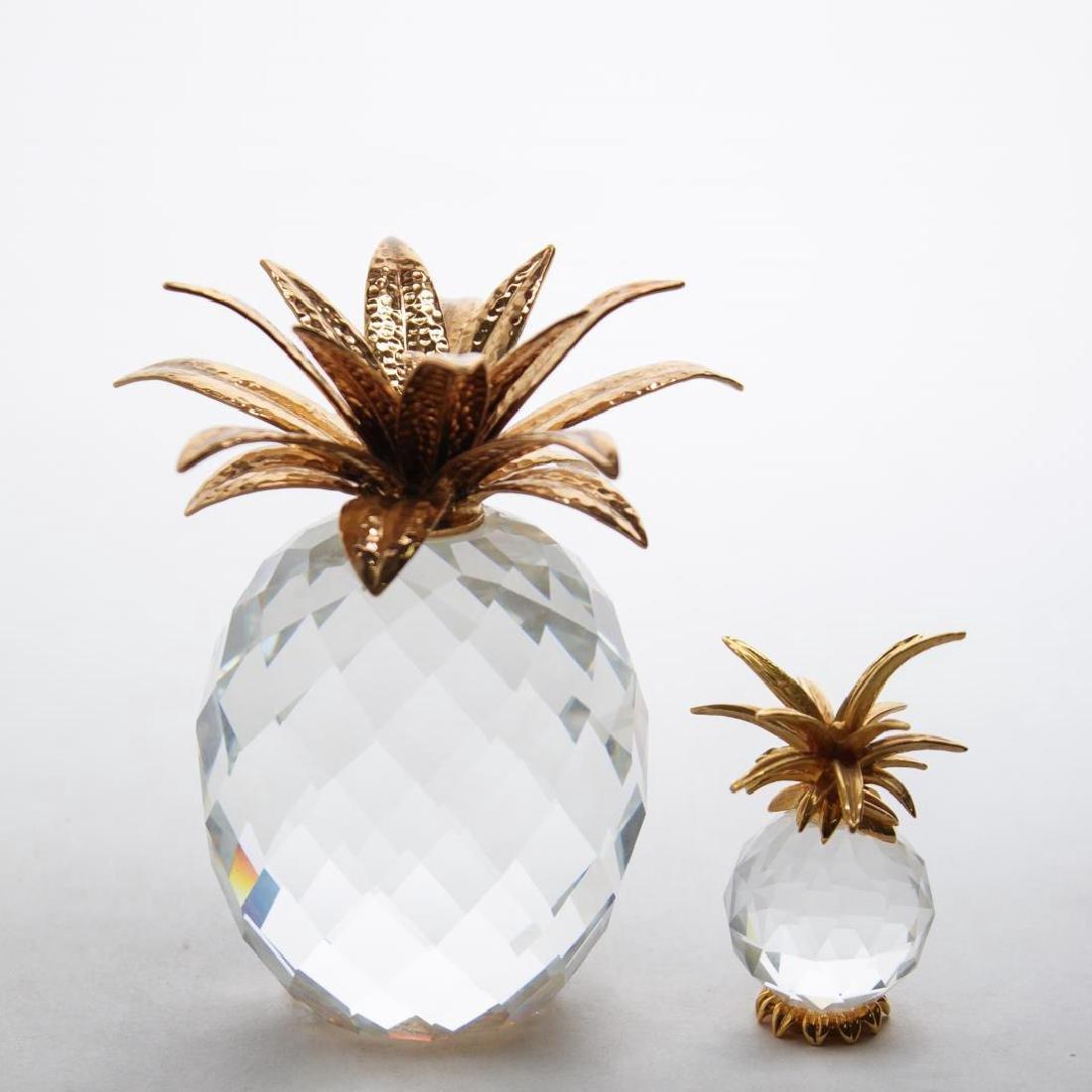 Swarovski Crystal Pineapple Paperweight & Ornament