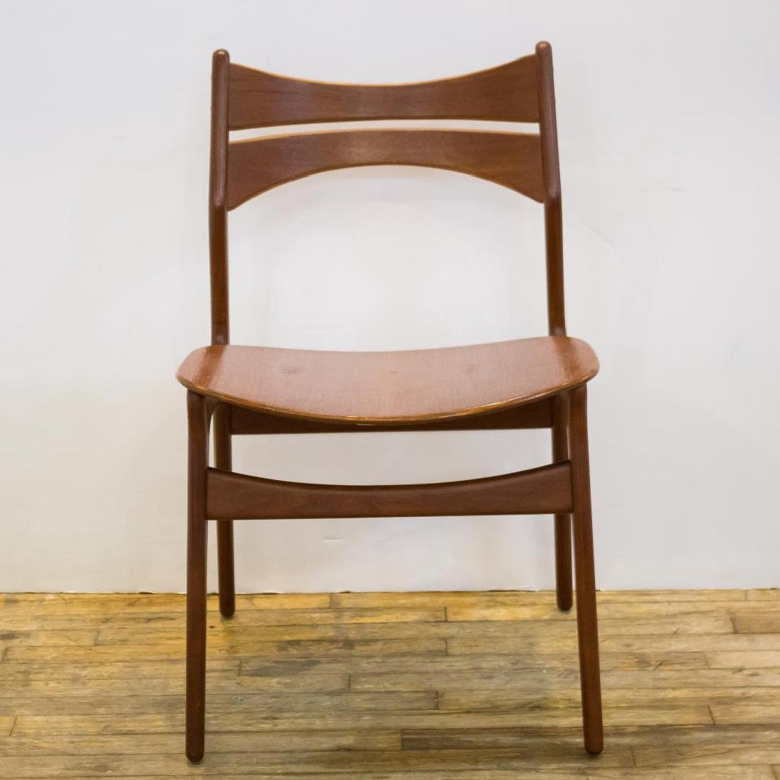 Erik Buck Danish Modern Side Chairs, Set of 4 - 2