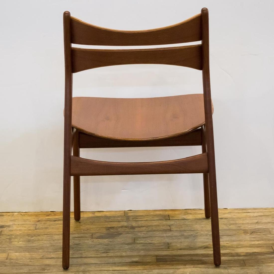 Erik Buck Danish Modern Side Chairs, Set of 4 - 5