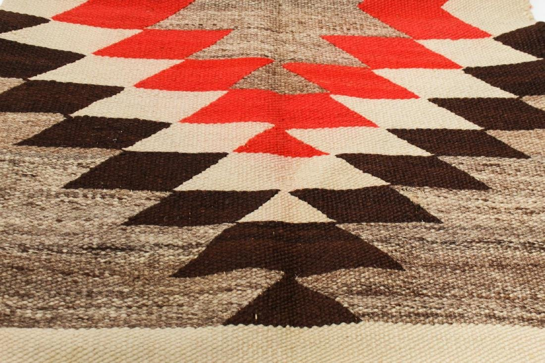 Navajo Saddle Blanket, Native American Indian - 2