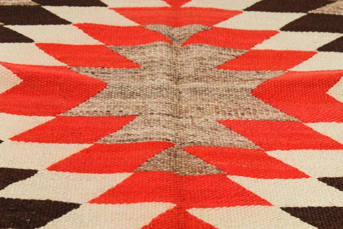 Navajo Saddle Blanket, Native American Indian - 3