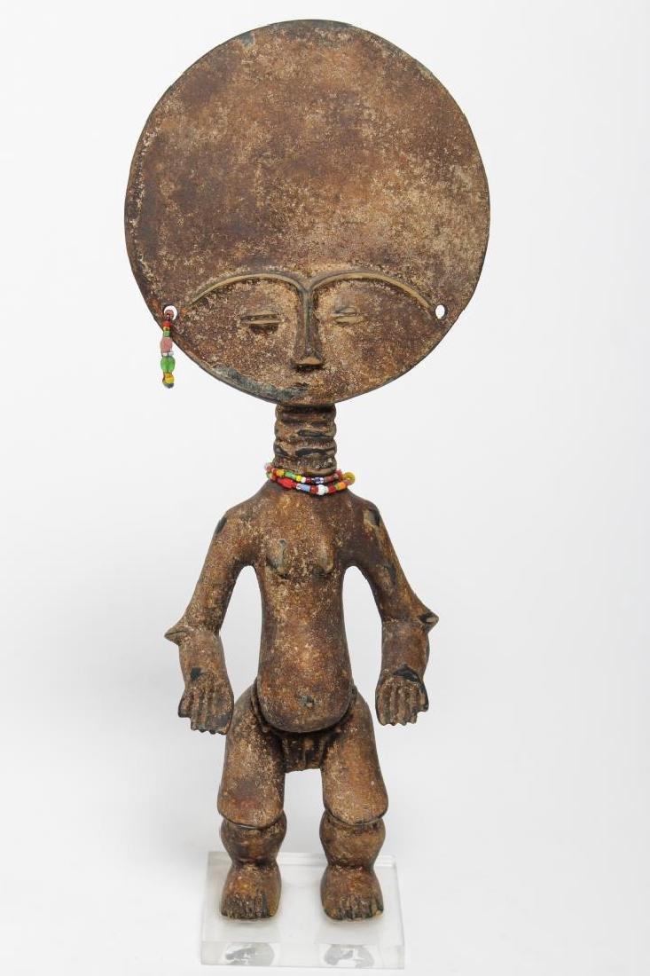 Akuaba African Wood Figure, Akan Peoples, Ghana
