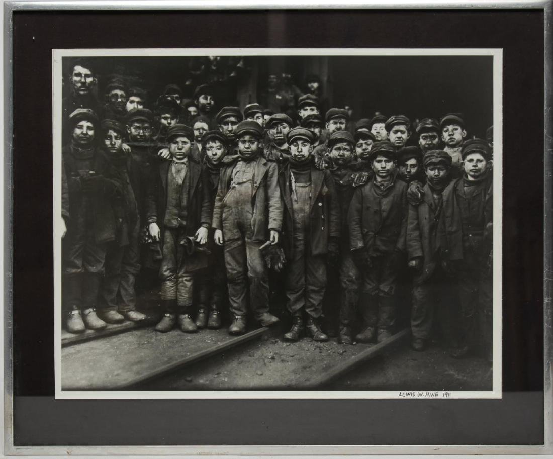 After Lewis Hine (American, 1874-1940)- Photograph