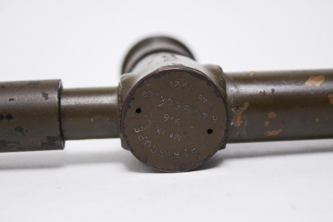 R & J Beck English WWI Trench Periscope, 1918 - 6
