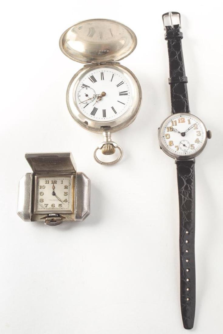 Vintage Watches & Clocks, Silver & Silver-Plate, 3