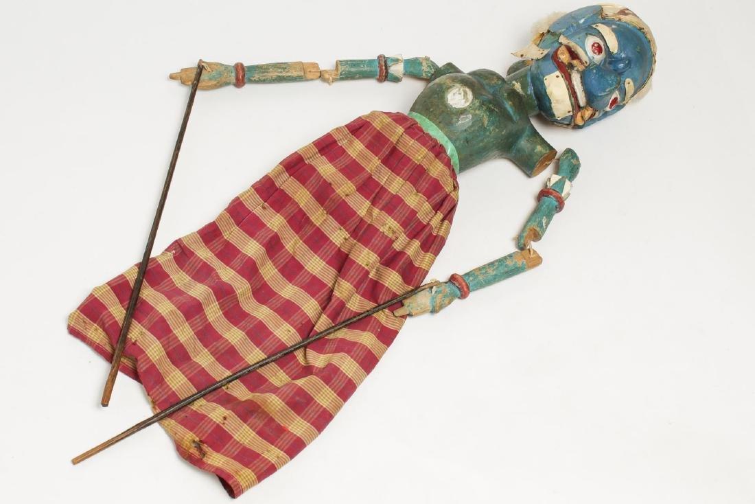 Indonesian Sundanese Wayang Golek Rod Puppet