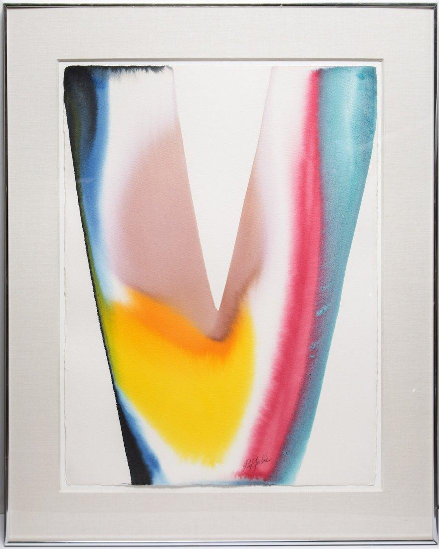 Paul Jenkins (American, 1923-2012)- Watercolor