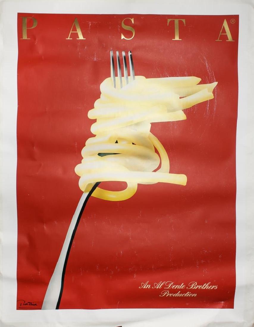 "Gerard Deneriaz ""Razzia"" (b. 1950)- Pasta Poster"