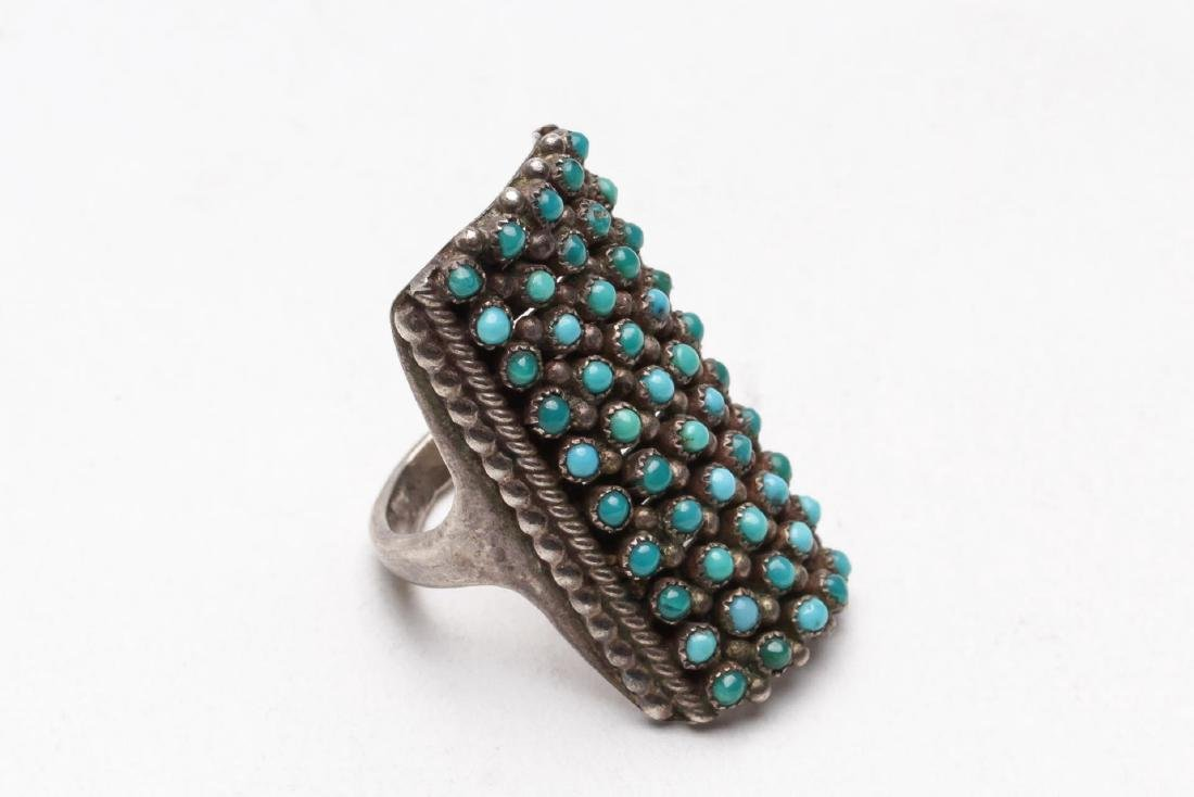 Turquoise, Silver, Brass & Silver-Tone Jewelry, 9 - 2