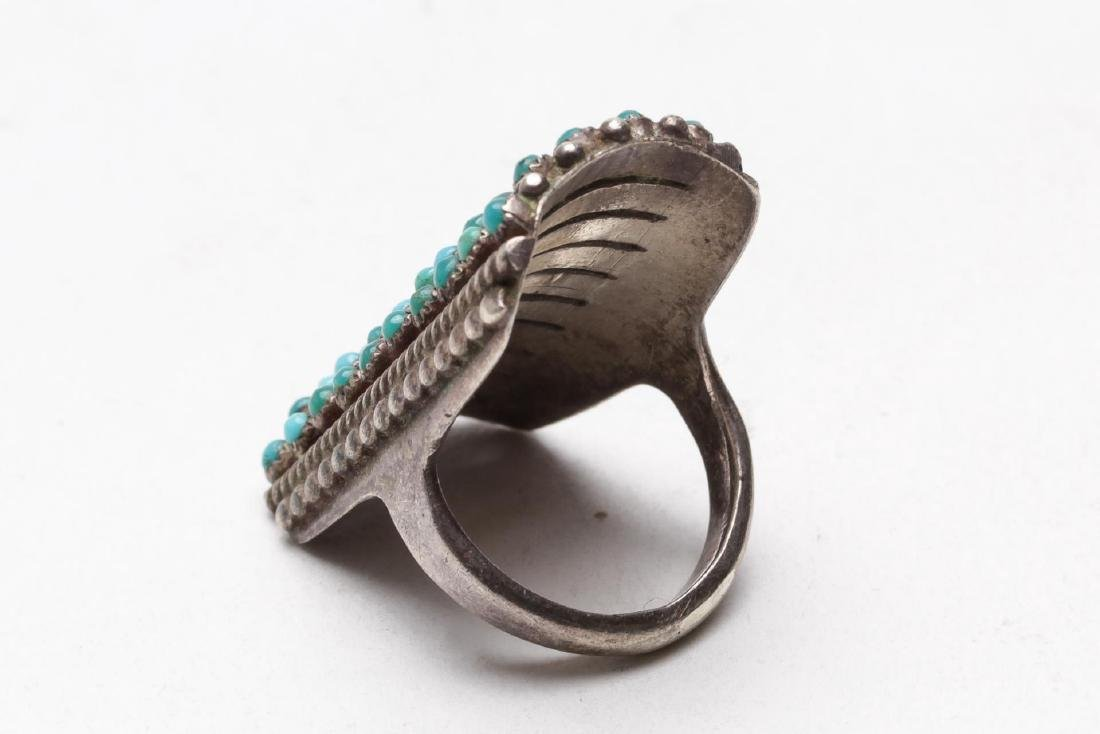 Turquoise, Silver, Brass & Silver-Tone Jewelry, 9 - 3