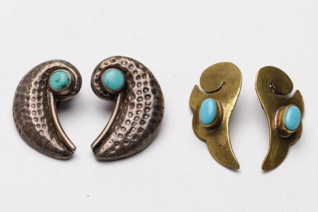 Turquoise, Silver, Brass & Silver-Tone Jewelry, 9 - 5