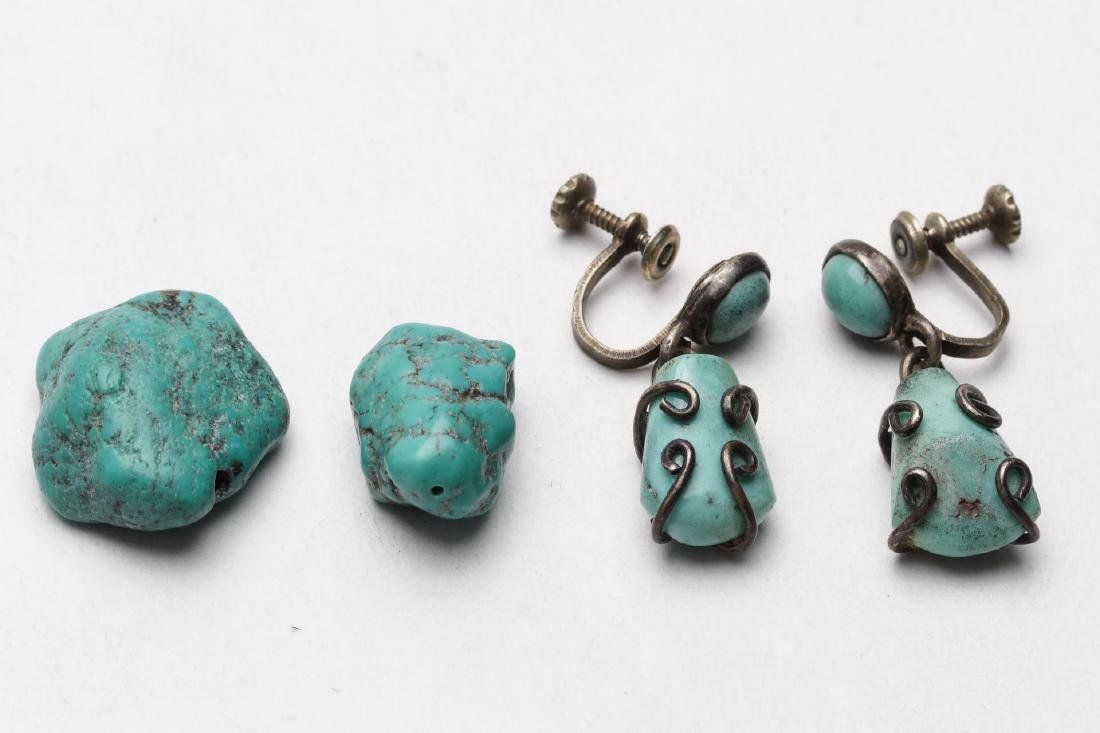 Turquoise, Silver, Brass & Silver-Tone Jewelry, 9 - 6