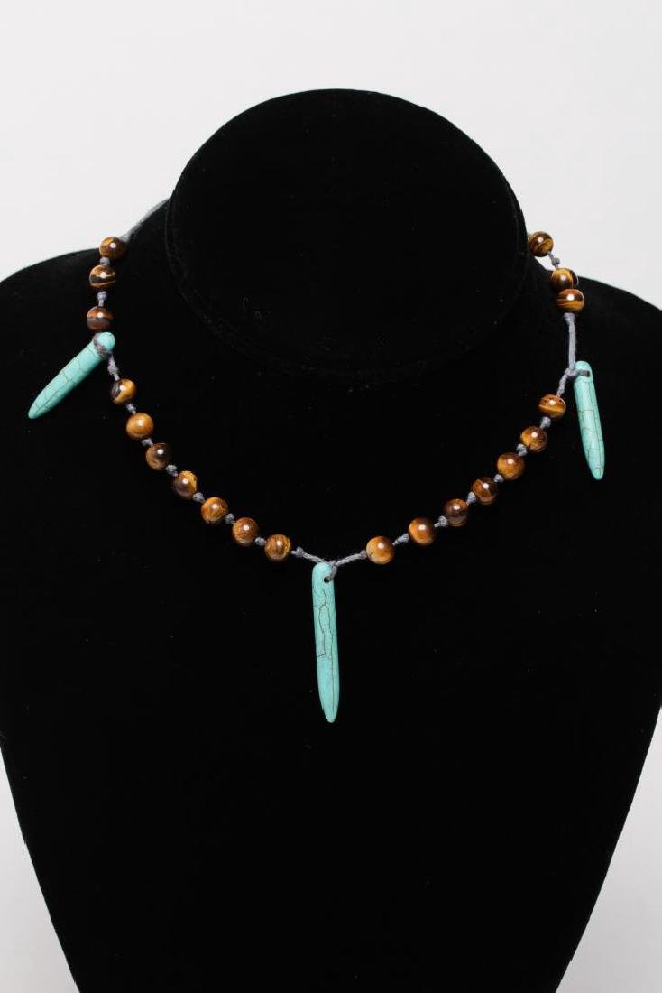 Turquoise, Silver, Brass & Silver-Tone Jewelry, 9 - 7