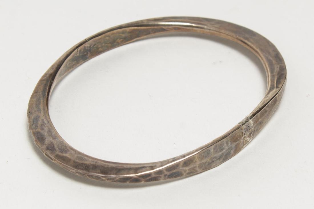 Bracelets, Silver & Silver-Tone Metal, Group of 4 - 3