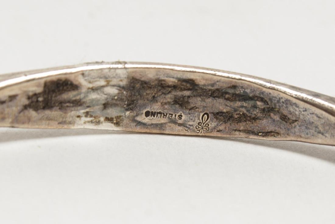 Bracelets, Silver & Silver-Tone Metal, Group of 4 - 4