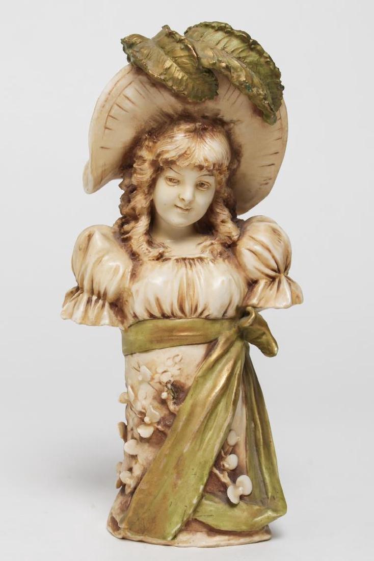 Eduard Stellmacher-Manner Art Nouveau Porcelain