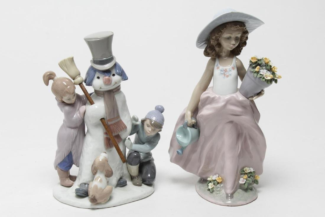Lladro Porcelain Children Figurines, 2