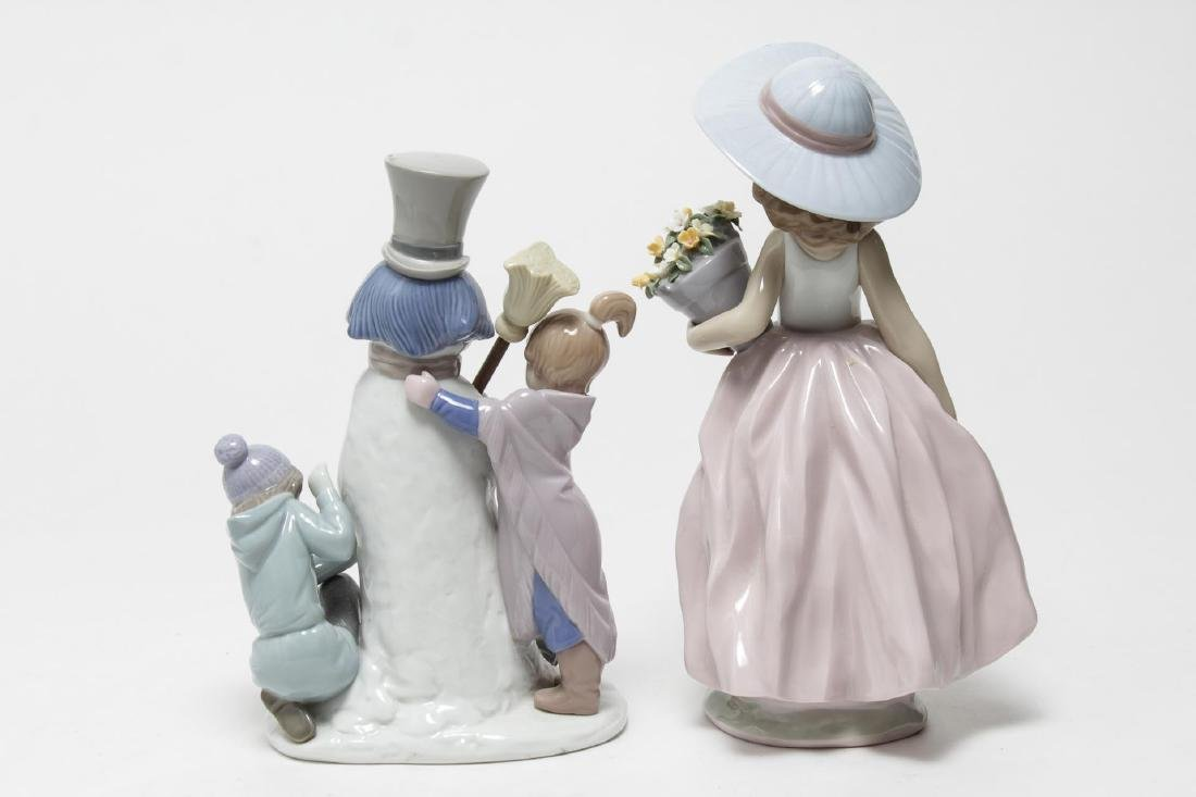 Lladro Porcelain Children Figurines, 2 - 3