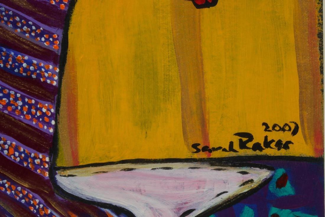 Sarah Rakes (American, b. 1955)- Acrylic on Paper - 3