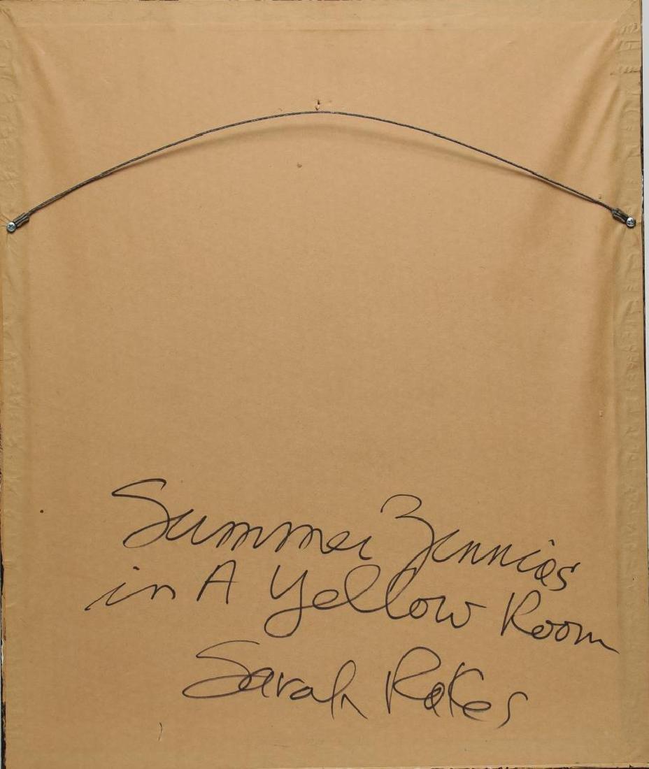 Sarah Rakes (American, b. 1955)- Acrylic on Paper - 4