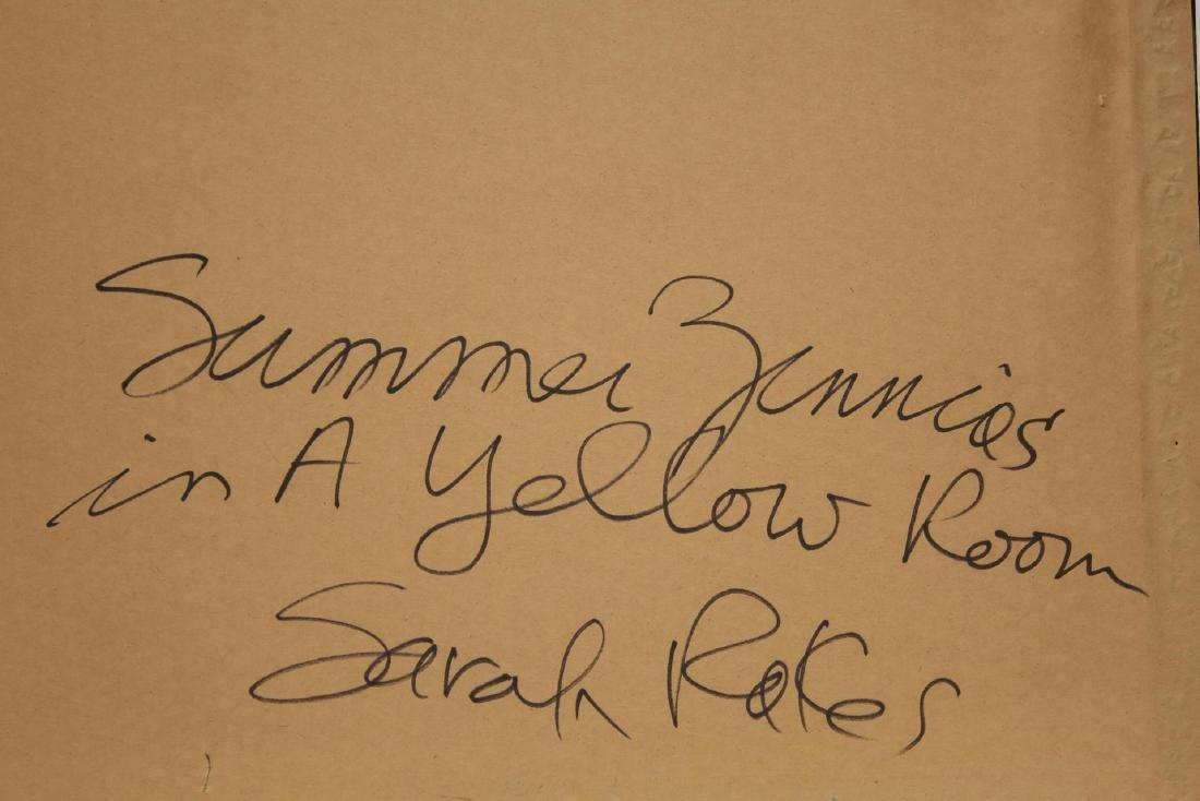 Sarah Rakes (American, b. 1955)- Acrylic on Paper - 5