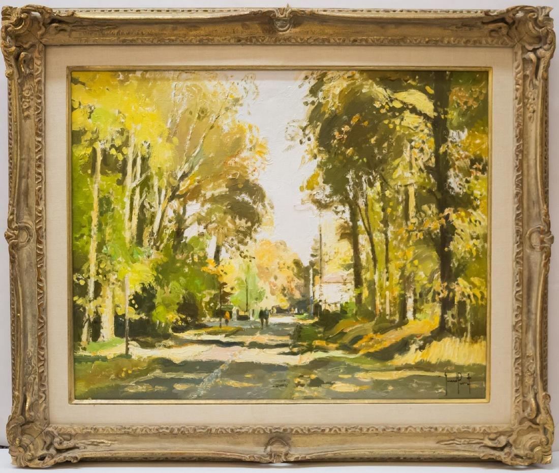 Gerard Passet (French, B. 1936)-Oil