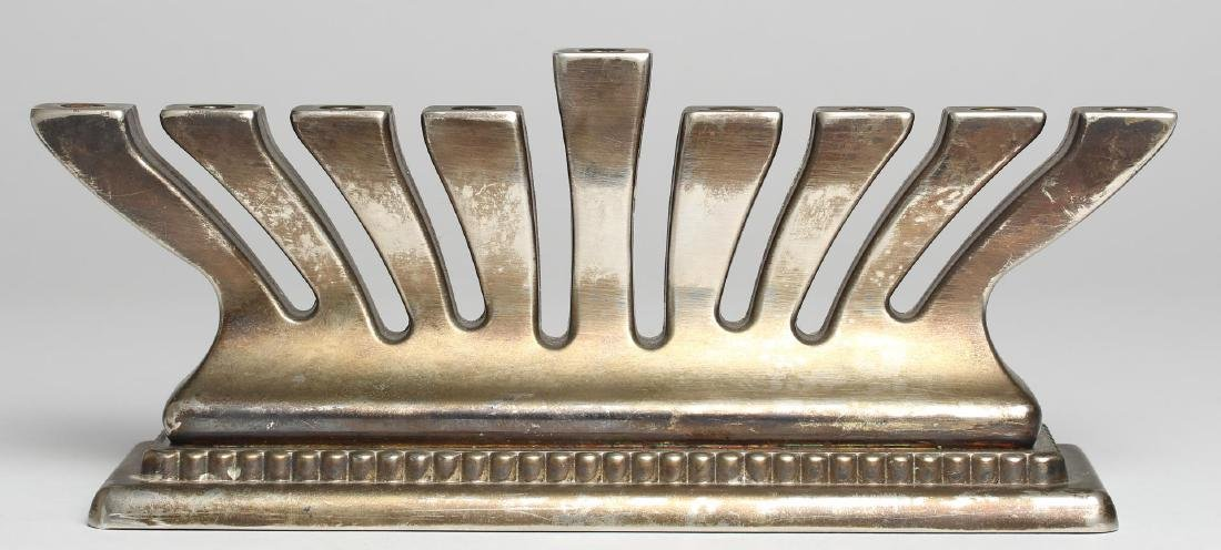 Godinger Judaica Hanukkah Menorah, Silver-Plate
