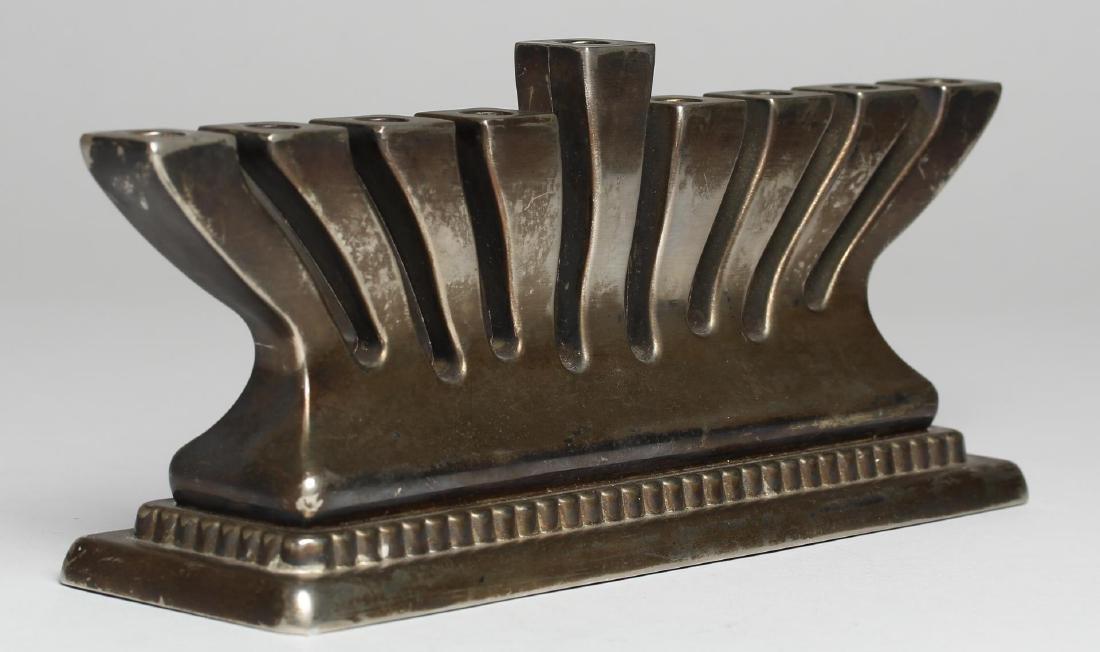 Godinger Judaica Hanukkah Menorah, Silver-Plate - 2