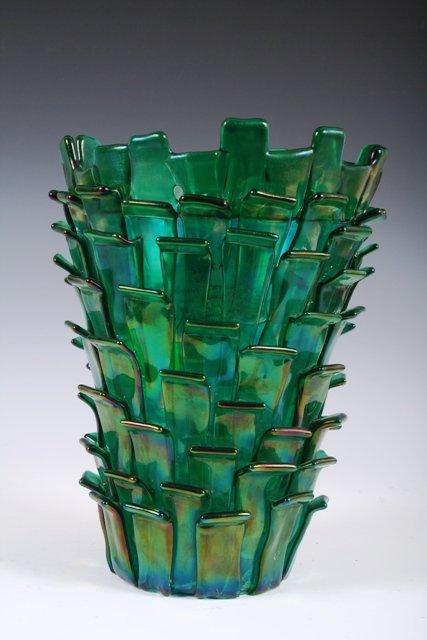 6: Venini Ritiglia Vase Designed by Fulvio Bianconi '92