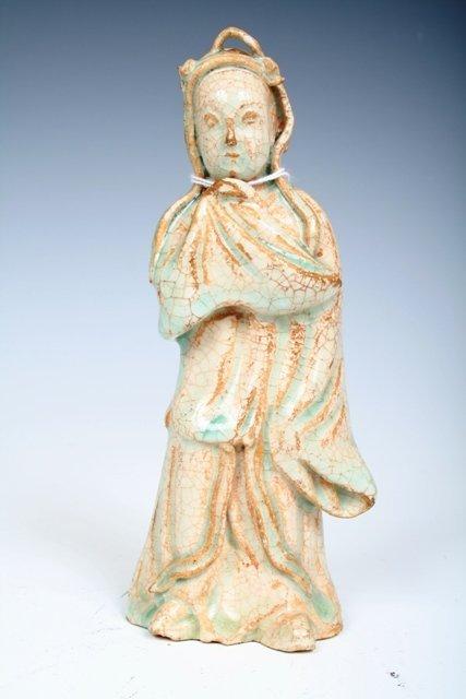 10: Ying Chin Guan Yien Figure Yuan Dynasty
