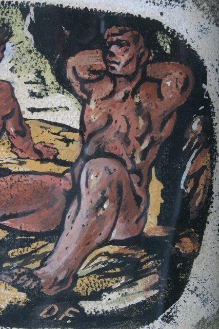 463: Donald Forbes Signed Male Nude Sunbathers Mixed Me - 4